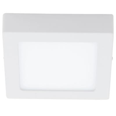 Светильник EgloСветильники настенно-потолочные<br>Мощность: 10.95,<br>Назначение светильника: для комнаты,<br>Стиль светильника: модерн,<br>Материал светильника: металл,<br>Тип лампы: светодиодная,<br>Длина (мм): 170,<br>Ширина: 170,<br>Высота: 35,<br>Патрон: LED,<br>Цвет арматуры: белый,<br>Вес нетто: 0.623<br>