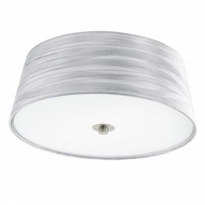 Светильник настенно-потолочный EgloСветильники настенно-потолочные<br>Мощность: 60, Количество ламп: 2, Назначение светильника: для комнаты, Стиль светильника: модерн, Материал светильника: металл, стекло, Тип лампы: накаливания, Длина (мм): 165, Диаметр: 375, Патрон: Е27, Цвет арматуры: белый, Степень защиты от пыли и влаги: IP 20, Вес нетто: 1.797<br>
