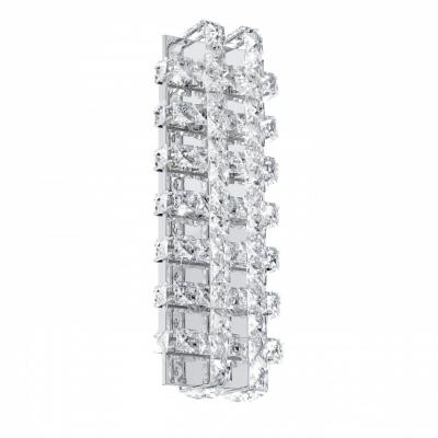 Светильник настенно-потолочный EgloСветильники настенно-потолочные<br>Мощность: 3.3,<br>Количество ламп: 6,<br>Назначение светильника: для комнаты,<br>Стиль светильника: модерн,<br>Материал светильника: металл, хрусталь,<br>Тип лампы: светодиодная,<br>Длина (мм): 140,<br>Ширина: 390,<br>Патрон: LED,<br>Цвет арматуры: хром<br>