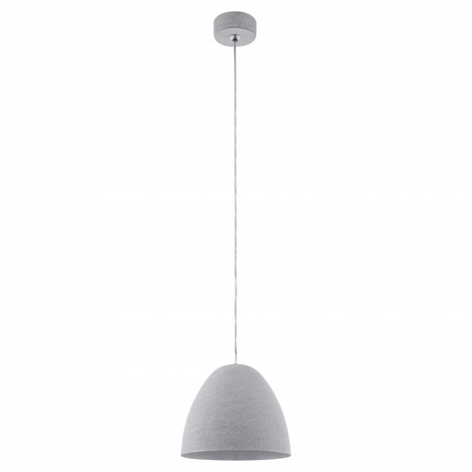 Светильник подвесной EgloСветильники подвесные<br>Количество ламп: 1, Мощность: 60, Назначение светильника: подвесной, Стиль светильника: модерн, Материал светильника: металл, Диаметр: 275, Высота: 1100, Тип лампы: накаливания, Патрон: Е27, Цвет арматуры: серебристый, Вес нетто: 2.467<br>