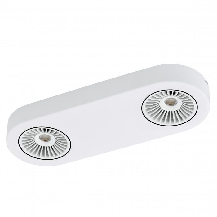 Спот EgloСпоты<br>Тип: спот, Стиль светильника: хай-тек, Материал светильника: металл, Количество ламп: 2, Тип лампы: светодиодная, Мощность: 5.4, Патрон: LED, Цвет арматуры: белый, Ширина: 115, Длина (мм): 315, Вес нетто: 1.164<br>
