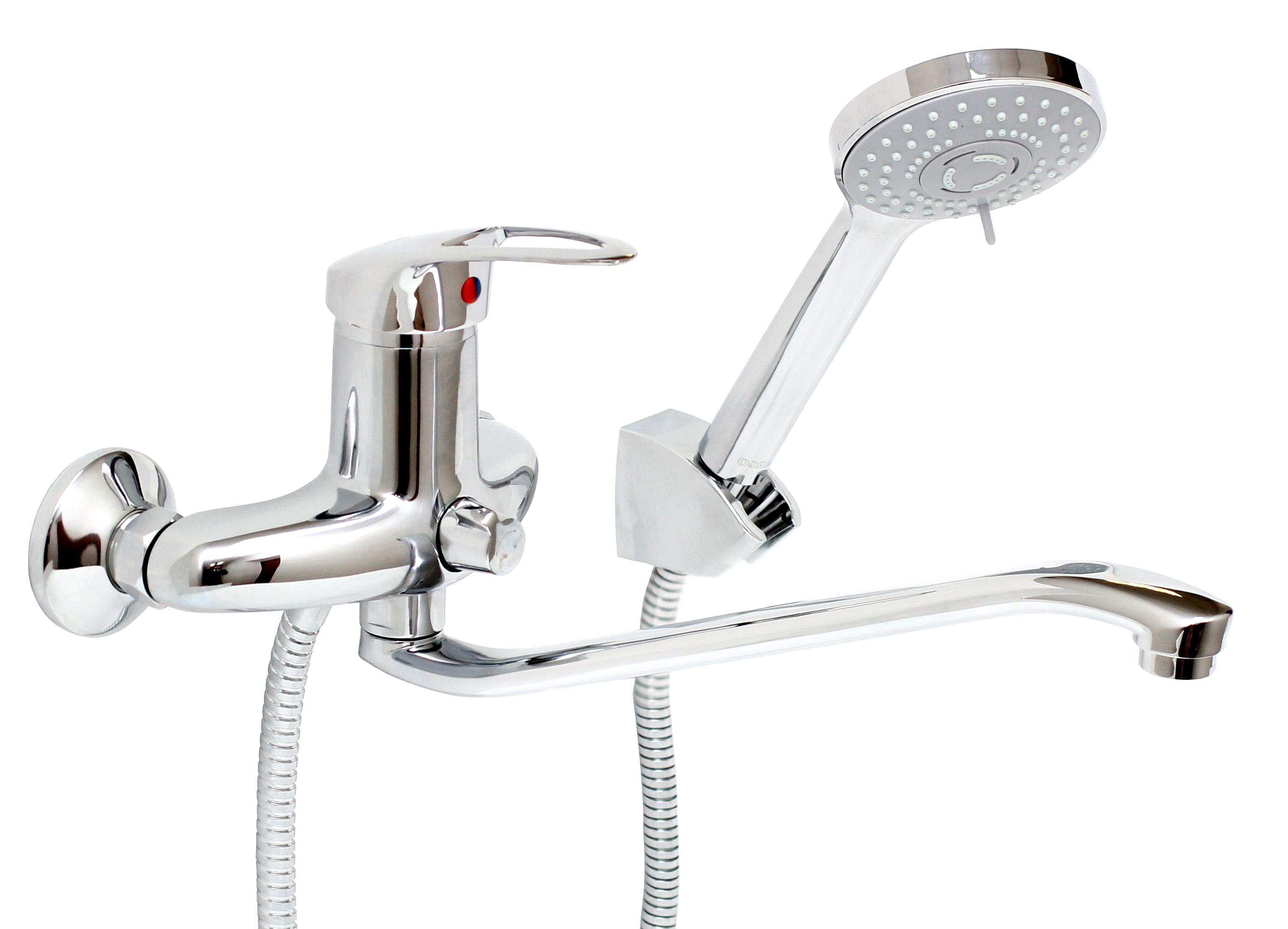 Смеситель для ванны ArgoСмесители<br>Назначение смесителя: для ванны и душа,<br>Тип управления смесителя: однорычажный,<br>Цвет покрытия: хром,<br>Стиль смесителя: модерн,<br>Монтаж смесителя: вертикальный,<br>Тип установки смесителя: настенный,<br>Материал смесителя: латунь,<br>Излив: традиционный,<br>Аэратор: есть,<br>Лейка: есть,<br>Родина бренда: Россия<br>