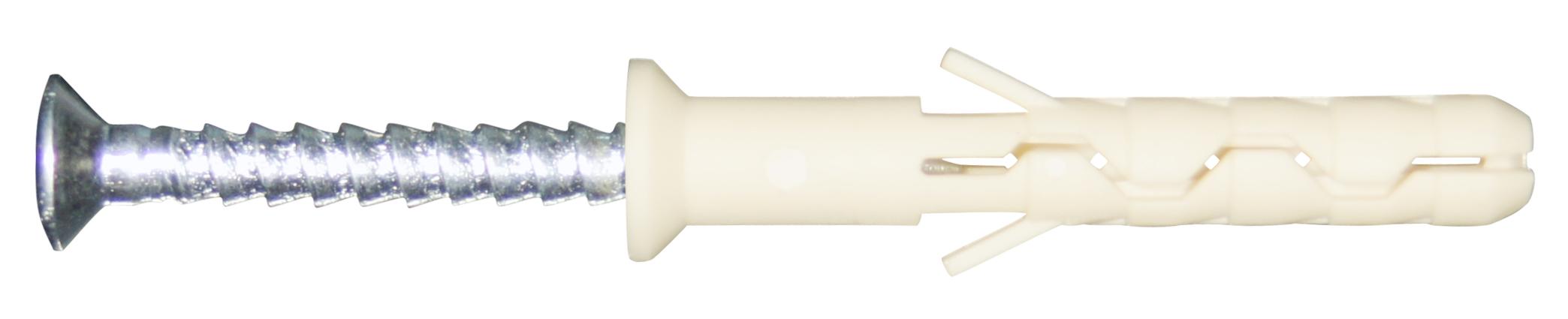 Дюбель-гвоздь EuropartnerДюбели и дюбель-гвозди<br>Тип: дюбель-гвоздь, Диаметр: 8, Длина (мм): 100, Материал: нейлон, Количество в упаковке: 50<br>