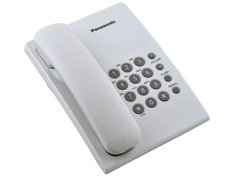 Проводной телефон PanasonicПроводные телефоны<br>Код продавца: 277460<br>