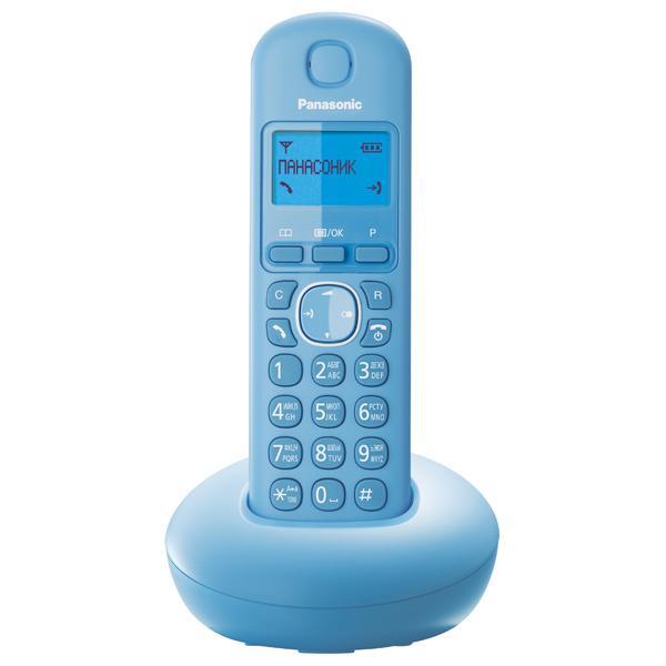 Радиотелефон PanasonicРадиотелефоны<br>Комплектация: база, трубка,<br>Время работы в режиме ожидания: 280,<br>Время работы в режиме разговора: 16,<br>Телефонная книга: 50<br>