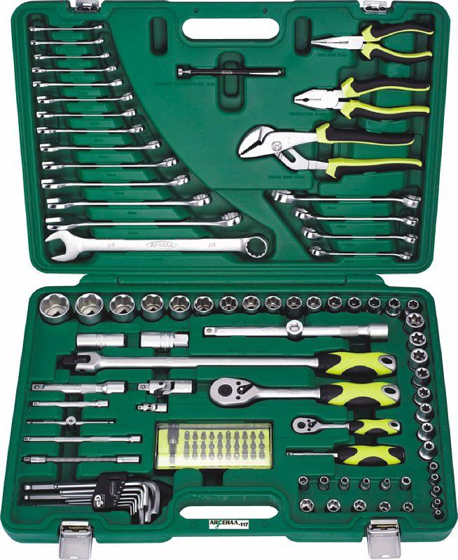 Набор инструментов универсальный АРСЕНАЛ Aa-c1412p117