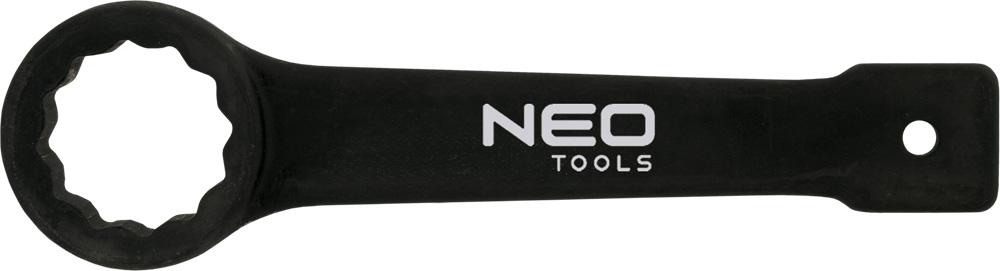Ключ гаечный накидной NeoКлючи гаечные<br>Тип: накидной,<br>Длина (мм): 210,<br>Размер ключа минимальный: 38,<br>Размер ключа максимальный: 38<br>