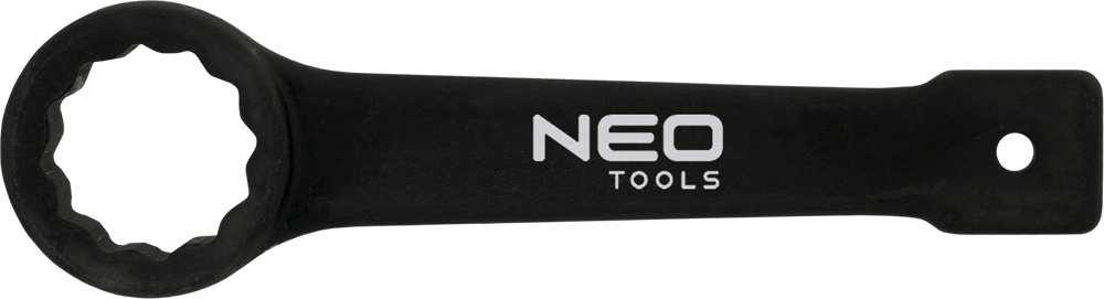 Ключ гаечный накидной NeoКлючи гаечные<br>Тип: накидной,<br>Длина (мм): 280,<br>Размер ключа минимальный: 60,<br>Размер ключа максимальный: 60<br>