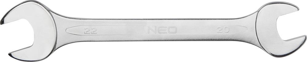 Ключ NeoКлючи гаечные<br>Тип: рожковый,<br>Размер ключа минимальный: 10,<br>Размер ключа максимальный: 11<br>