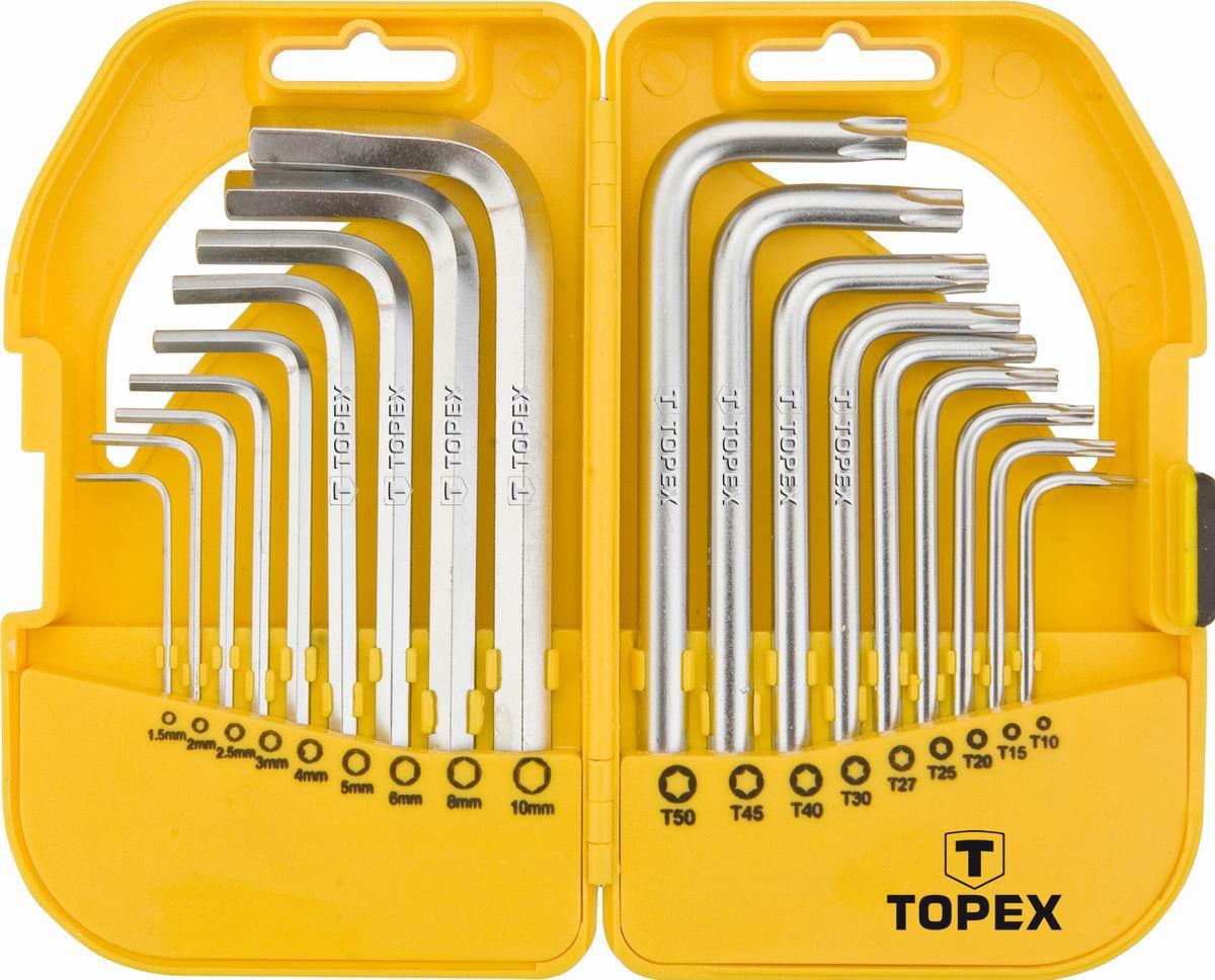 Набор ключей Topex
