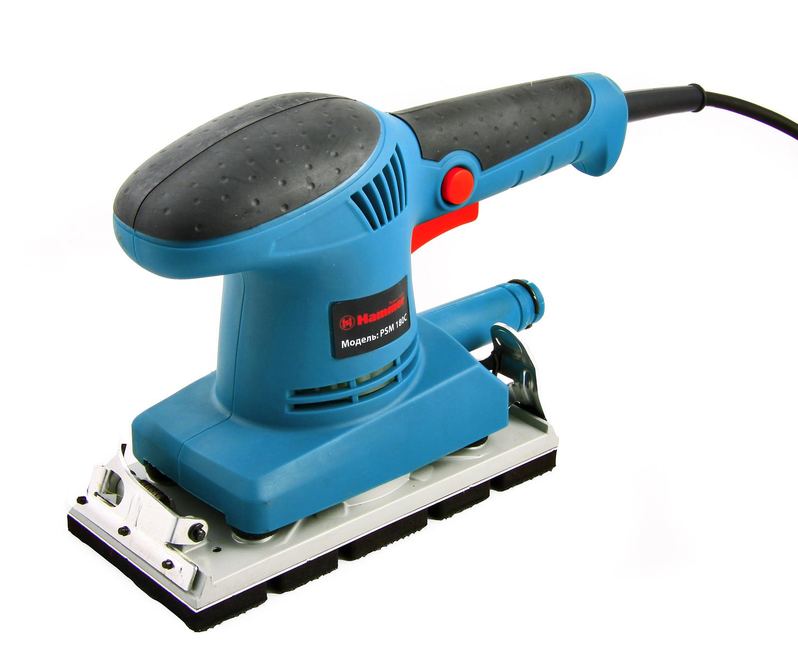 Фотография товара Машинка шлифовальная плоская (вибрационная) Hammer