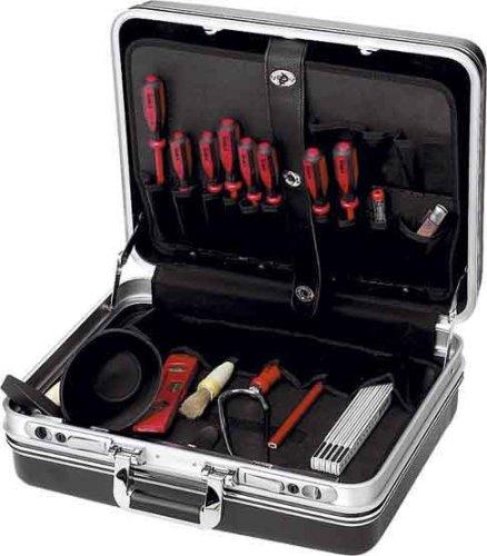 Наборы инструментов для электрика CimcoНаборы инструментов<br>Назначение: электрика,<br>Количество предметов в наборе: 24,<br>Класс: проф.,<br>Поставляется в: сумке,<br>Родина бренда: Германия<br>