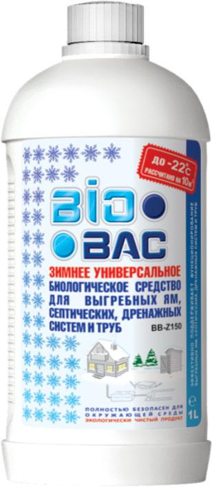 Средство БИОБАКАксессуары для биотуалетов<br>Использование: для выгребных ям и септических систем<br>