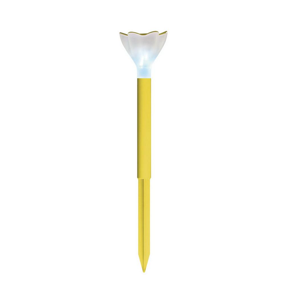 Светильник уличный UnielСветильники на солнечных батареях<br>Тип установки: грунтовый,<br>Форма светильника: столбики,фонари,шарики,<br>Материал светильника: пластик,<br>Солнечная батарея: есть,<br>Цвет арматуры: желтый<br>