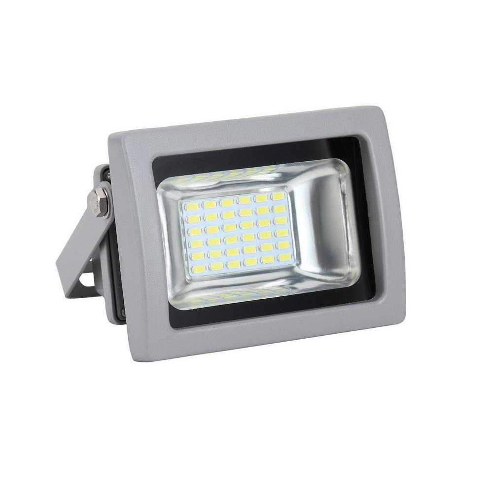 Прожектор светодиодный Uniel Ulf-s04-10w/green ip65 85-265В grey