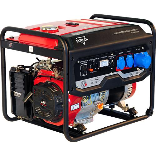 Бензиновый генератор Elitech