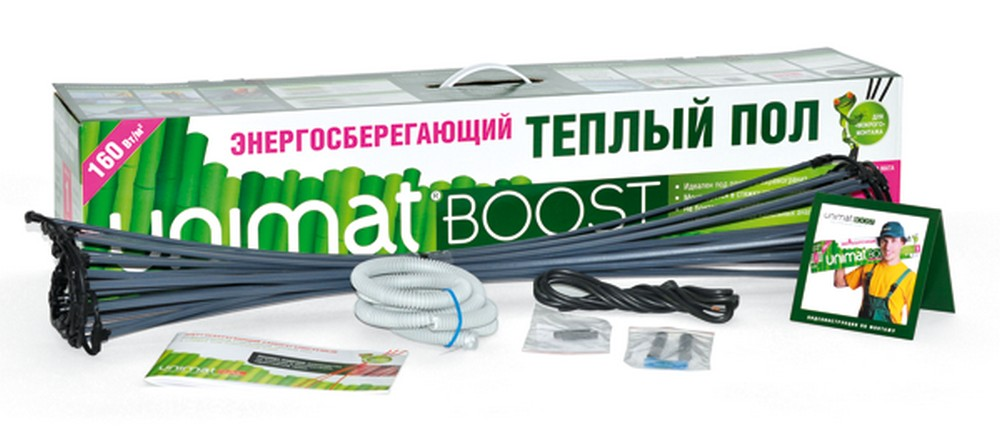 Теплый пол Caleo Unimat boost-0400