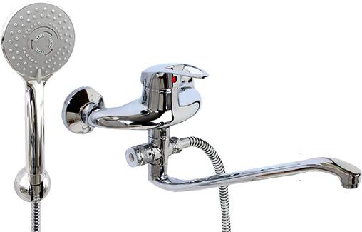 Смеситель ArgoСмесители<br>Назначение смесителя: для ванны,<br>Тип управления смесителя: однорычажный,<br>Цвет покрытия: хром,<br>Стиль смесителя: модерн,<br>Монтаж смесителя: вертикальный,<br>Тип установки смесителя: настенный,<br>Материал смесителя: латунь,<br>Излив: традиционный,<br>Аэратор: есть,<br>Лейка: есть,<br>Родина бренда: Россия,<br>Гарантия: 60<br>
