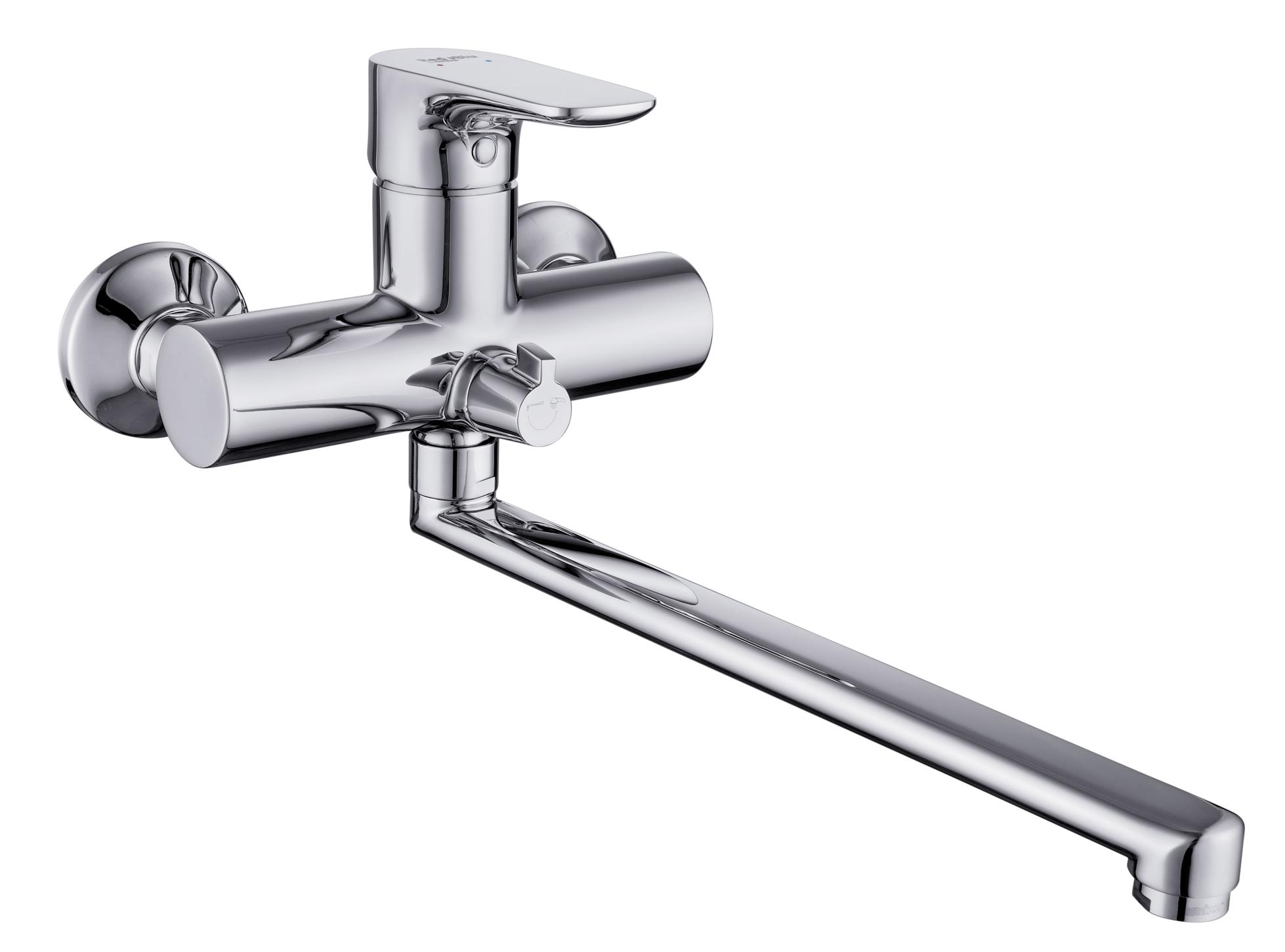 Смеситель DamixaСмесители<br>Назначение смесителя: для ванны и душа,<br>Тип управления смесителя: однорычажный,<br>Цвет покрытия: хром,<br>Стиль смесителя: модерн,<br>Монтаж смесителя: вертикальный,<br>Тип установки смесителя: настенный,<br>Материал смесителя: латунь,<br>Излив: традиционный,<br>Родина бренда: Дания,<br>Длина (мм): 400,<br>Ширина: 120,<br>Высота: 180<br>