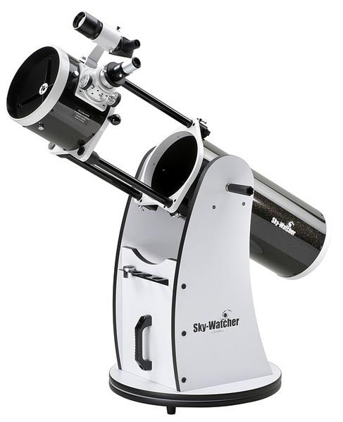 Телескоп Synta sky-watcherТелескопы<br>Тип телескопа: рефлектор,<br>Оптическая схема: Ньютона,<br>Фокусное расстояние: 1200,<br>Диаметр объектива: 203,<br>Предмет наблюдения: объекты дальнего космоса<br>