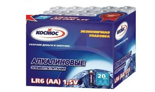 Батарейка КОСМОС