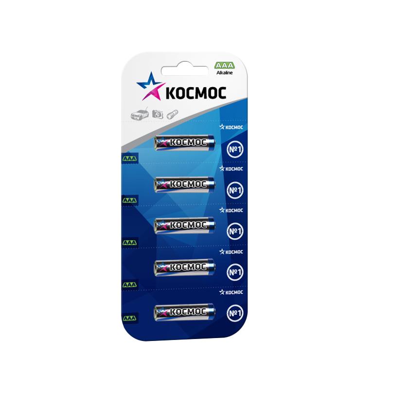 Батарейка КОСМОСБатарейки, аккумуляторы и зарядные устройства<br>Напряжение: 1.5,<br>Тип: LR6,<br>Вид: батарейка,<br>Количество в упаковке: 5<br>