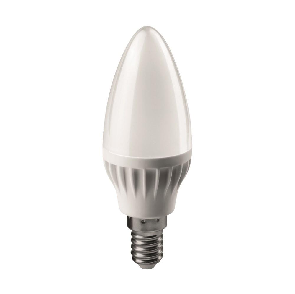 Лампа светодиодная ОНЛАЙТЛампы<br>Тип лампы: светодиодная,<br>Форма лампы: свеча,<br>Цвет колбы: белая,<br>Тип цоколя: Е14,<br>Напряжение: 220,<br>Мощность: 6,<br>Цветовая температура: 4000,<br>Цвет свечения: холодный<br>
