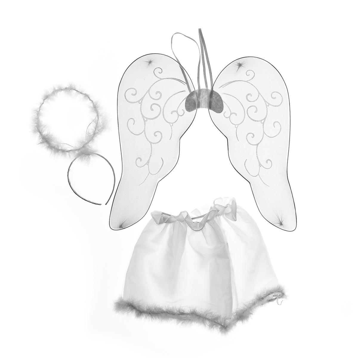 Костюм Lunten rantaКарнавальные костюмы<br>Тип костюма: костюм,<br>Персонаж: ангел,<br>Назначение костюма: для девочки<br>