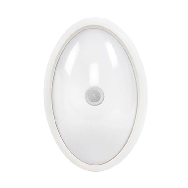 Светильник для ванной комнаты AsdСветильники для ванных комнат<br>Стиль светильника: модерн, Назначение светильника: для кухни, Материал светильника: пластик, Ширина: 76, Длина (мм): 187, Высота: 76, Мощность: 8, Количество ламп: 1, Тип лампы: светодиодная, Патрон: LED, Цвет арматуры: белый<br>