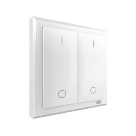 Выключатель BreninУправление электричеством<br>Тип: выключатель,<br>Максимальная подключаемая мощность: 2000,<br>Степень защиты от пыли и влаги: IP 20,<br>Максимальная дальность действия: 10,<br>Частота радиосигнала, МГц: 433,92,<br>Цвет: белый<br>
