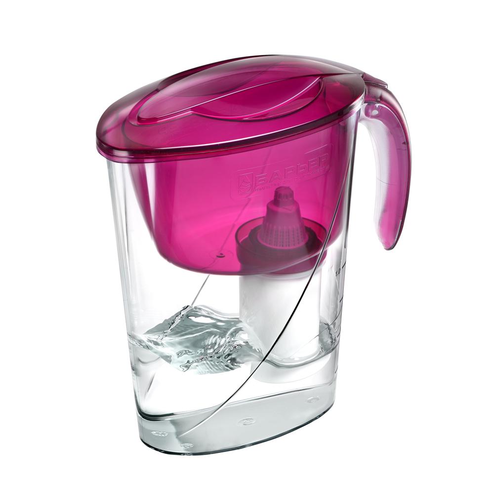 Фильтр БАРЬЕРФильтры для воды<br>Тип фильтра для воды: кувшин,<br>Назначение фильтра для воды: для питьевой воды,<br>Функциональные особенности фильтра для воды: нейтрализует действие хлора,<br>Материал: пластик<br>