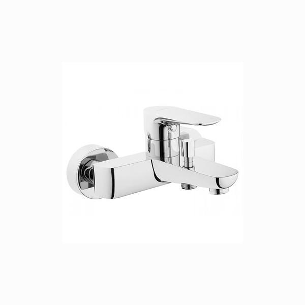 Смеситель VitraСмесители<br>Назначение смесителя: для ванны,<br>Тип управления смесителя: однорычажный,<br>Цвет покрытия: хром,<br>Стиль смесителя: модерн,<br>Монтаж смесителя: горизонтальный,<br>Тип установки смесителя: на борт ванны,<br>Излив: традиционный,<br>Родина бренда: Швейцария<br>