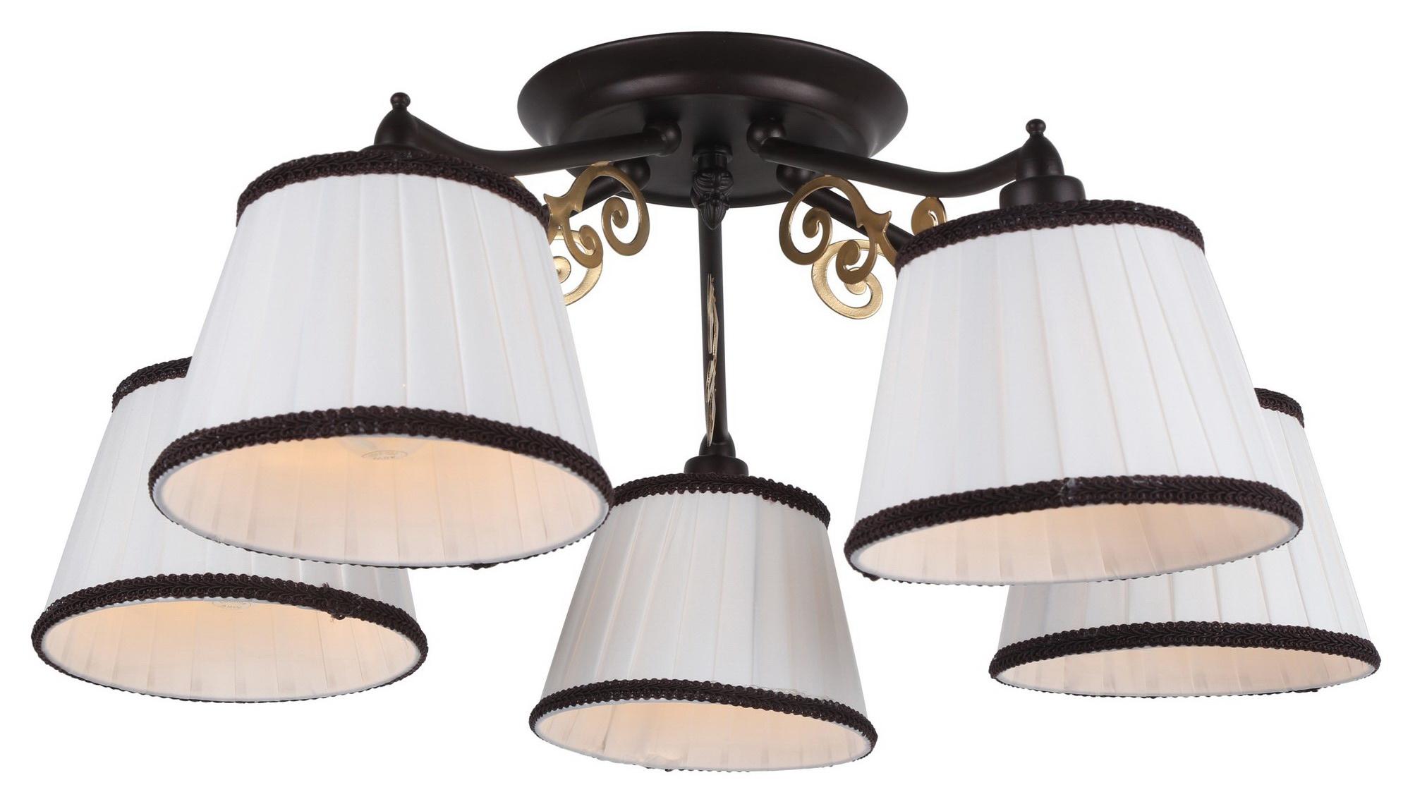 Люстра Arte lamp Capri a6344pl-5br A6344PL-5BR
