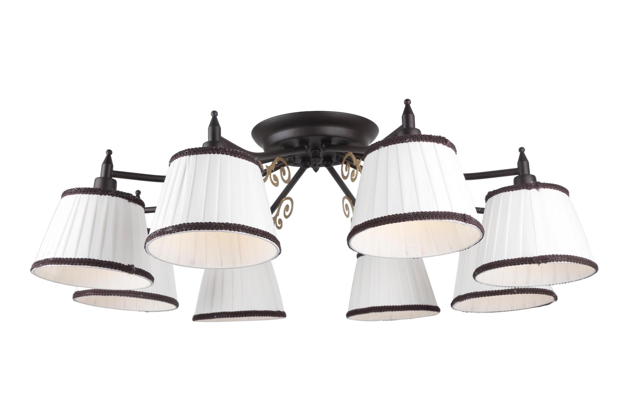 Люстра Arte lamp Capri a6344pl-8br A6344PL-8BR