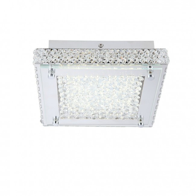 Люстра GloboЛюстры<br>Назначение светильника: для комнаты,<br>Стиль светильника: модерн,<br>Тип: потолочная,<br>Материал светильника: металл, стекло,<br>Материал арматуры: металл,<br>Длина (мм): 70,<br>Ширина: 220,<br>Высота: 220,<br>Количество ламп: 1,<br>Тип лампы: светодиодная,<br>Мощность: 12,<br>Патрон: LED,<br>Цвет арматуры: серебро<br>