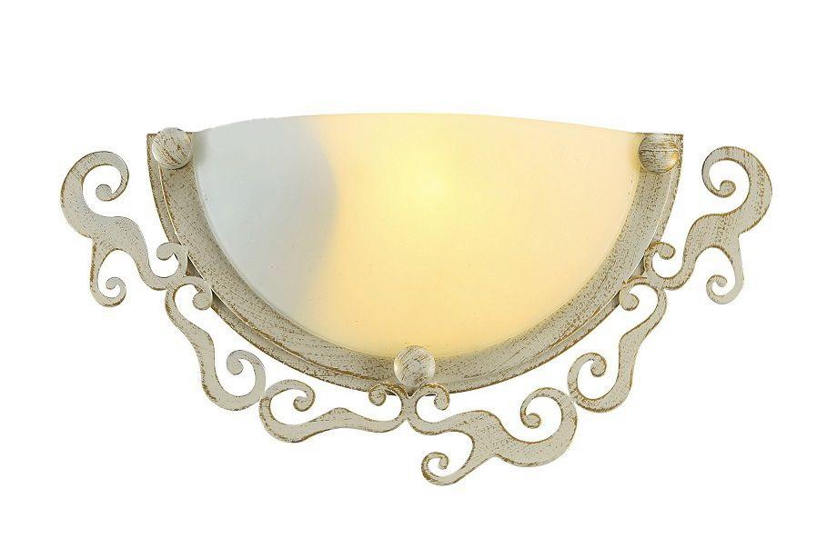 Светильник настенно-потолочный Arte lampСветильники настенно-потолочные<br>Мощность: 60,<br>Количество ламп: 1,<br>Назначение светильника: для комнаты,<br>Стиль светильника: классика,<br>Материал светильника: металл, стекло,<br>Тип лампы: накаливания,<br>Длина (мм): 320,<br>Ширина: 90,<br>Высота: 160,<br>Патрон: Е27,<br>Цвет арматуры: золото,<br>Коллекция: riccioli 1060<br>
