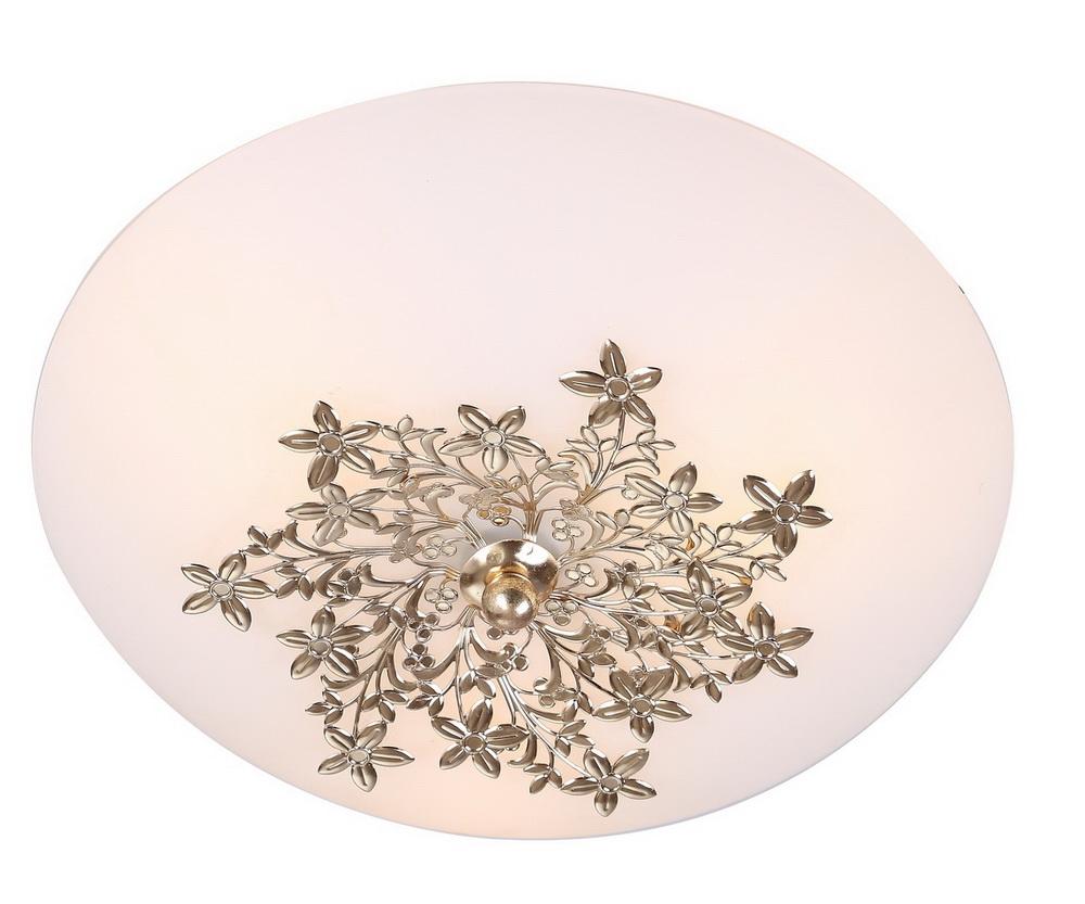 Светильник настенно-потолочный Arte lampСветильники настенно-потолочные<br>Мощность: 60,<br>Количество ламп: 3,<br>Назначение светильника: для комнаты,<br>Стиль светильника: классика,<br>Материал светильника: металл, стекло,<br>Тип лампы: накаливания,<br>Длина (мм): 300,<br>Ширина: 300,<br>Высота: 140,<br>Патрон: Е27,<br>Цвет арматуры: золото,<br>Коллекция: provence 4548<br>