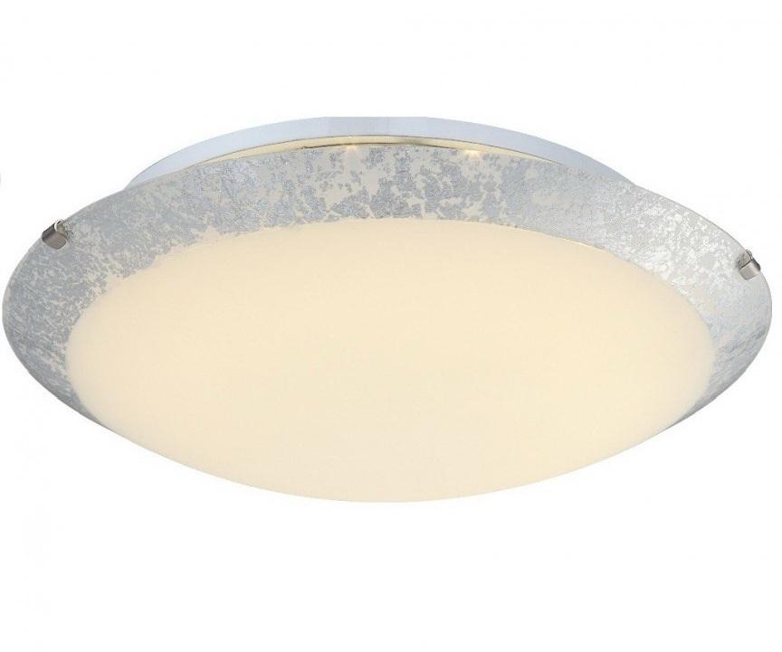 Светильник настенно-потолочный GloboСветильники настенно-потолочные<br>Мощность: 12,<br>Количество ламп: 1,<br>Назначение светильника: для комнаты,<br>Стиль светильника: модерн,<br>Материал светильника: металл, стекло,<br>Тип лампы: светодиодная,<br>Длина (мм): 100,<br>Ширина: 300,<br>Высота: 300,<br>Патрон: LED,<br>Цвет арматуры: матовый хром,<br>Коллекция: hera<br>