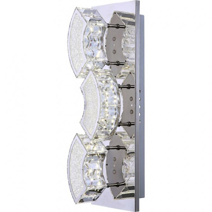 Светильник настенно-потолочный GloboСветильники настенно-потолочные<br>Мощность: 9,<br>Количество ламп: 1,<br>Назначение светильника: для комнаты,<br>Стиль светильника: классика,<br>Материал светильника: металл, пластик, стекло,<br>Тип лампы: светодиодная,<br>Длина (мм): 100,<br>Ширина: 370,<br>Высота: 120,<br>Патрон: LED,<br>Цвет арматуры: серебристый<br>