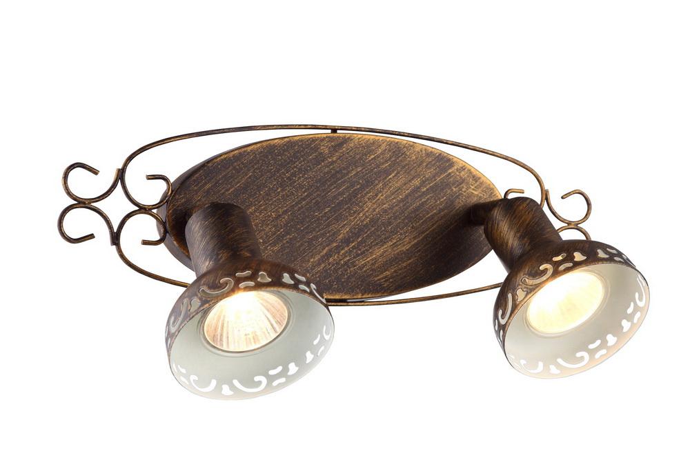 Спот Arte lampСпоты<br>Тип: спот,<br>Стиль светильника: античный,<br>Материал светильника: металл,<br>Количество ламп: 2,<br>Тип лампы: галогенная,<br>Мощность: 35,<br>Патрон: GU10,<br>Цвет арматуры: дерево,<br>Ширина: 140,<br>Длина (мм): 330,<br>Высота: 140<br>