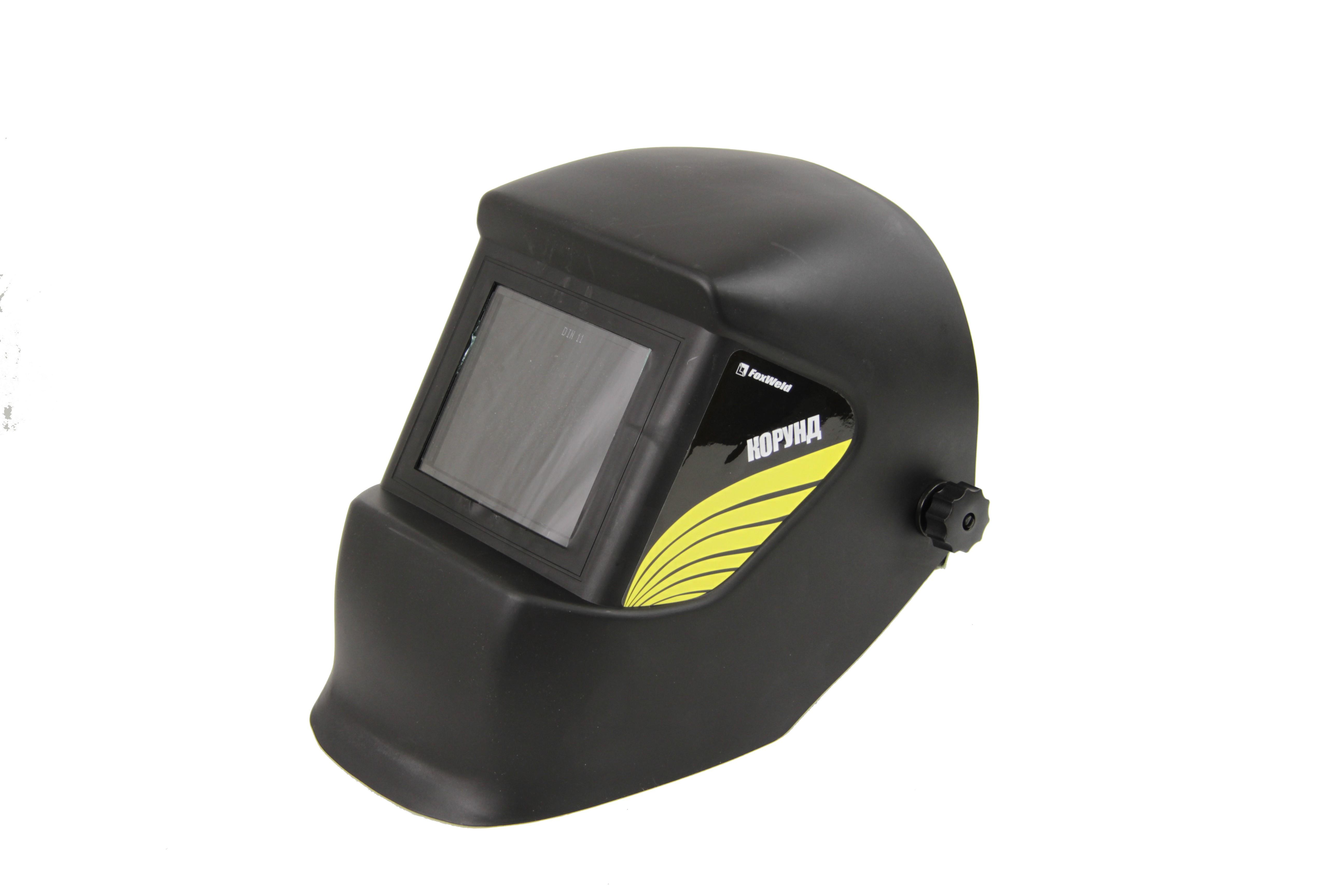 Маска FoxweldСварочные маски<br>Тип: маска,<br>Степень затемнения: 11,<br>Размер смотрового окна: 110х90<br>