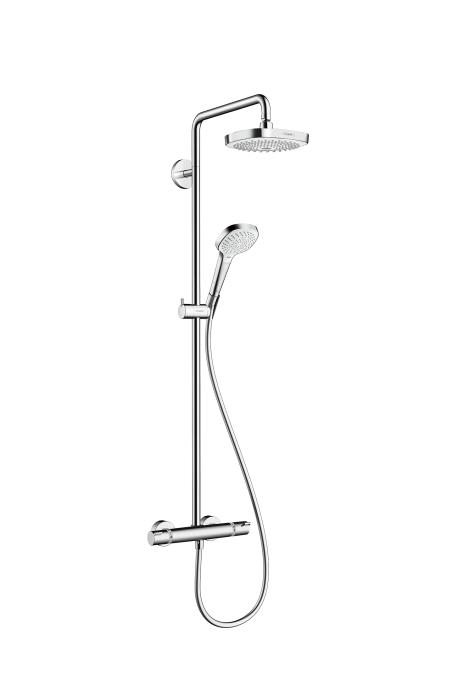 Душевая система Hansgrohe Croma select e showerpipe 180 27256
