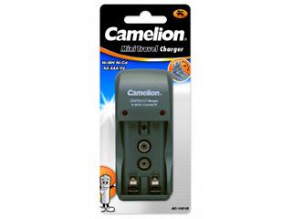 Зарядное устройство CamelionБатарейки, аккумуляторы и зарядные устройства<br>Напряжение: 220,<br>Тип: зарядное устройство,<br>Вид: зарядное устройство<br>