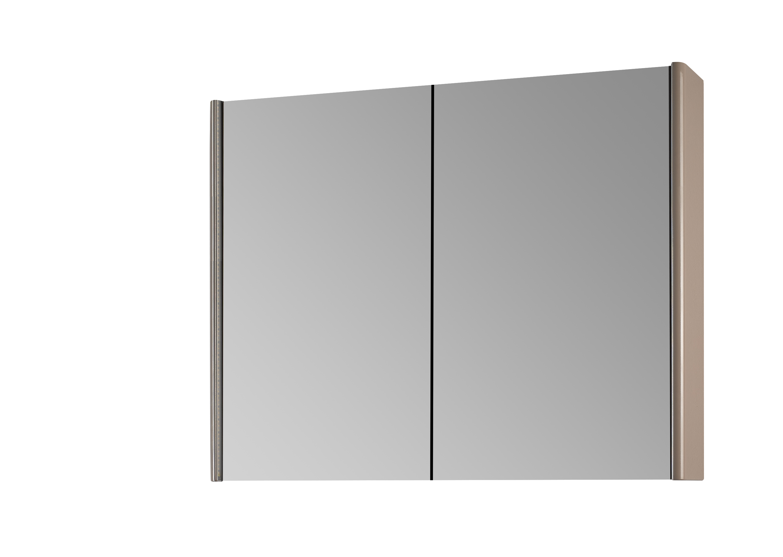Зеркало-шкаф DrejaМебель для ванной комнаты<br>Тип: шкаф,<br>Тип установки мебели для ванной: подвесной,<br>Материал изготовления мебели для ванной: дсп,<br>Зеркало: есть,<br>Цвет мебели для ванной: серый,<br>Коллекция: enzo<br>