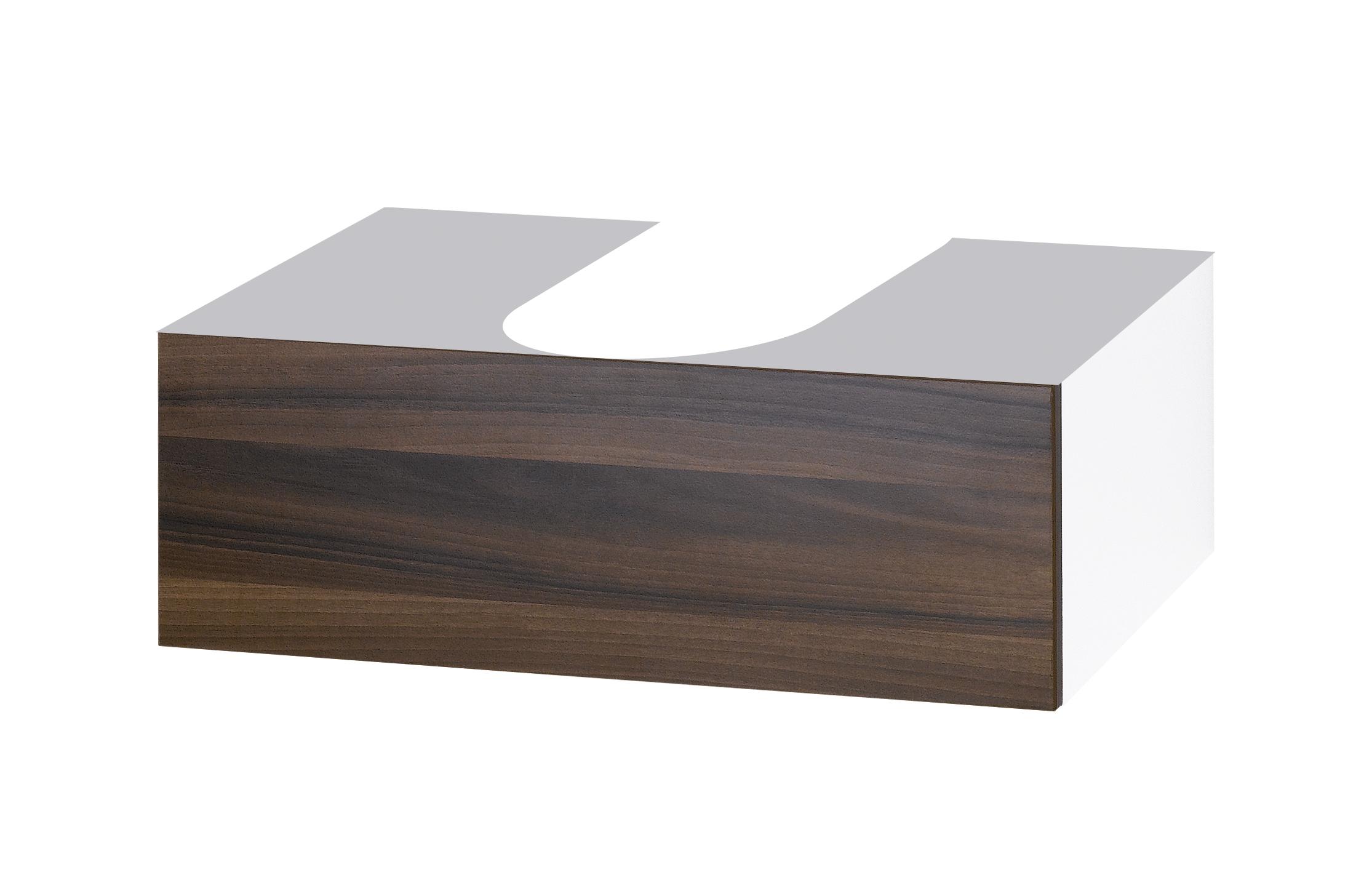 Ящик DrejaМебель для ванной комнаты<br>Тип: ящик,<br>Тип установки мебели для ванной: под раковину,<br>Материал изготовления мебели для ванной: дсп,<br>Цвет мебели для ванной: цвета под дерево<br>
