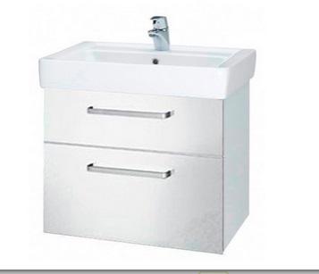 Тумба под раковину DrejaМебель для ванной комнаты<br>Тип: тумба,<br>Тип установки мебели для ванной: под раковину,<br>Материал изготовления мебели для ванной: дсп,<br>Цвет мебели для ванной: белый,<br>С ящиками: есть,<br>Коллекция: q max<br>