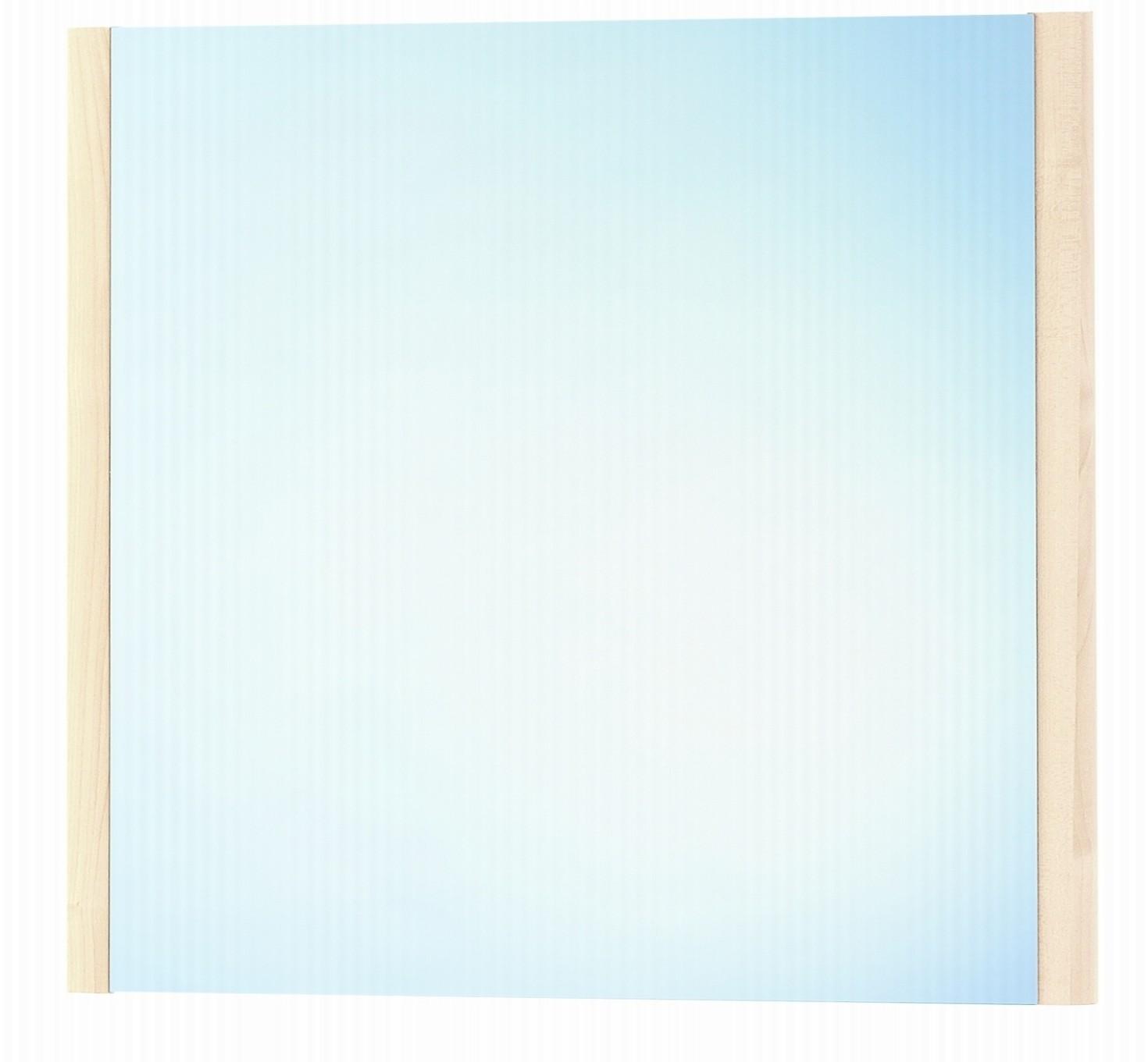 Зеркало DrejaЗеркала<br>Высота: 800, Ширина: 580, Форма зеркала: прямоугольник, Назначение: для ванной, прихожей, Зеркало в раме: есть, Тип рамы: деревянная, Цвет рамы: береза, Коллекция: lafutura<br>