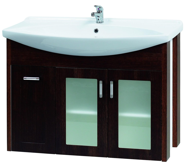 Тумба под раковину DrejaМебель для ванной комнаты<br>Тип: тумба,<br>Тип установки мебели для ванной: под раковину,<br>Материал изготовления мебели для ванной: дсп,<br>Цвет мебели для ванной: чёрный,<br>С ящиками: есть,<br>Коллекция: lafutura<br>