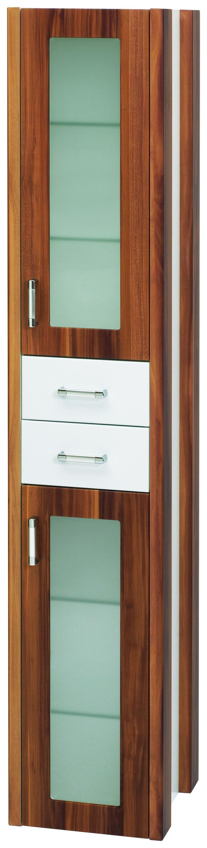 Пенал DrejaМебель для ванной комнаты<br>Тип: пенал, Тип установки мебели для ванной: подвесной, Материал изготовления мебели для ванной: дсп, Цвет мебели для ванной: цвета под дерево, С ящиками: есть, Коллекция: lafutura<br>