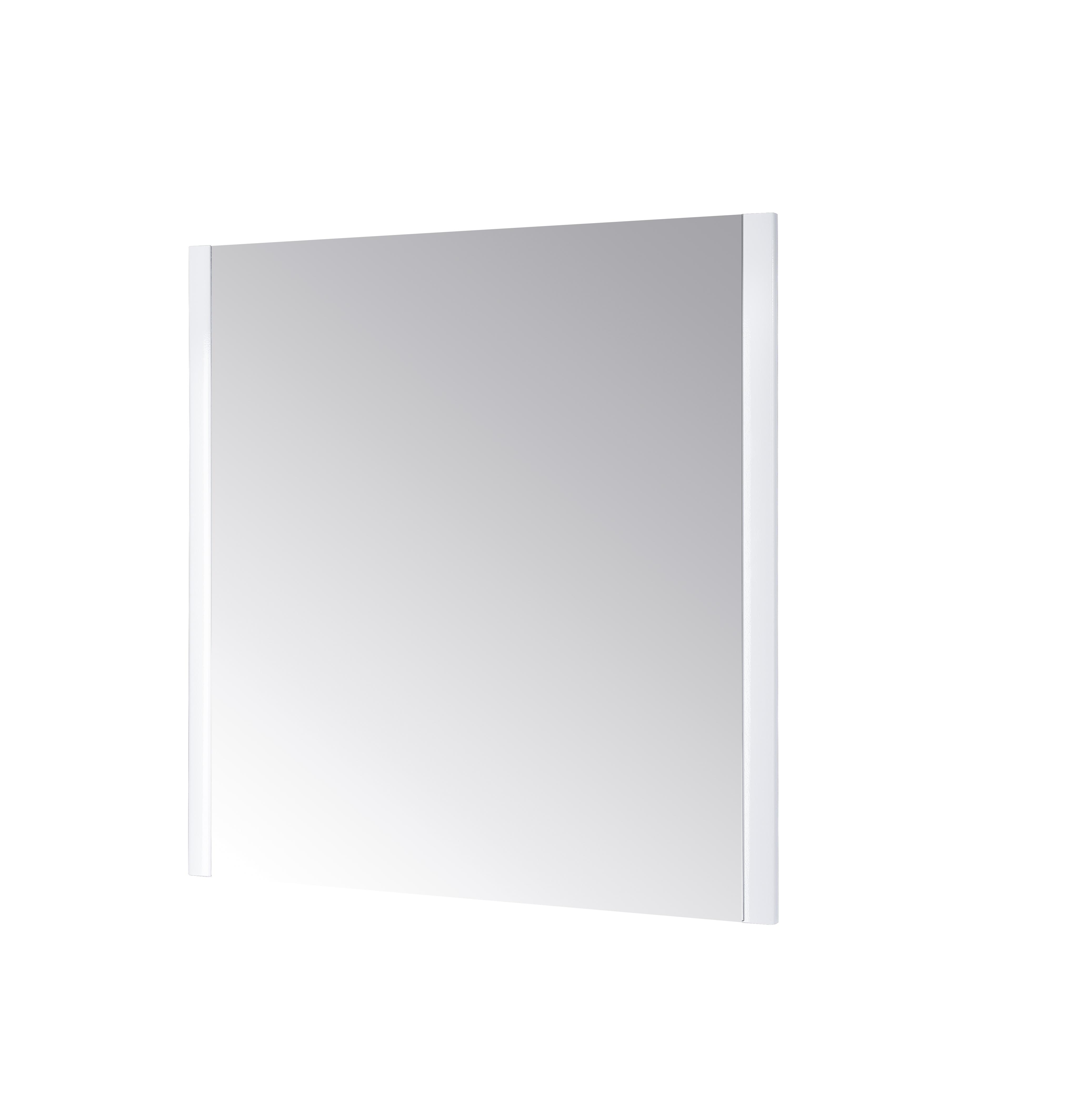 Зеркало DrejaЗеркала<br>Высота: 800, Ширина: 970, Форма зеркала: прямоугольник, Назначение: для ванной, Зеркало в раме: есть, Тип рамы: деревянная, Цвет рамы: белый, Коллекция: wind<br>